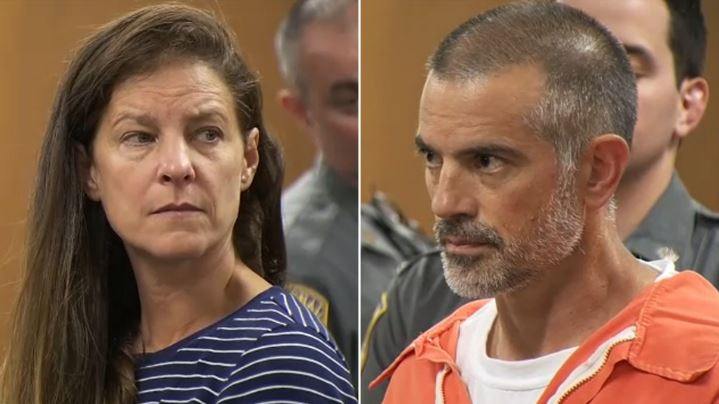 Michelle Troconis y Fotis Dulos