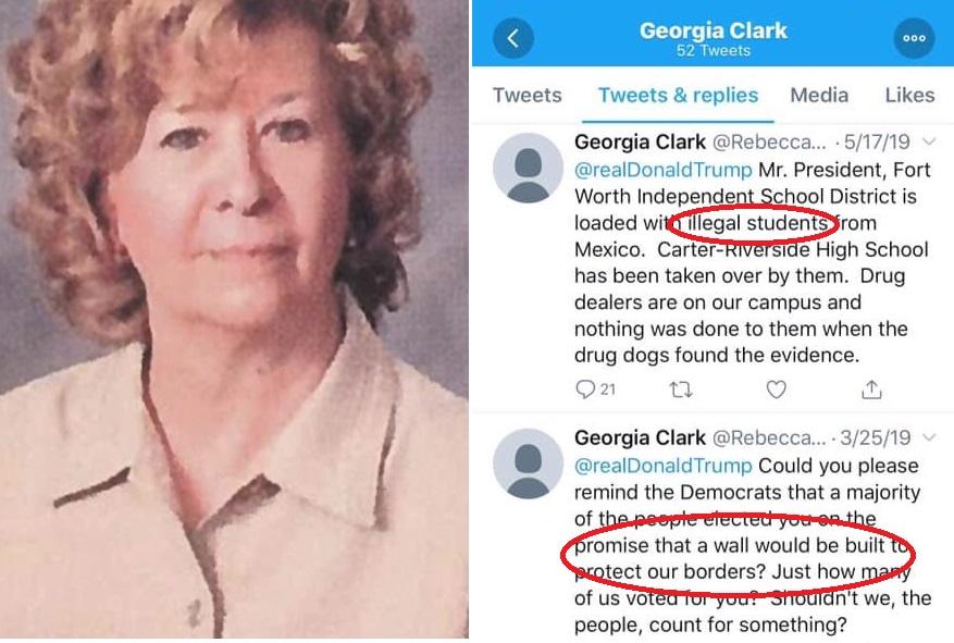 Maestra pidió a Trump en Twitter deportar a estudiantes, pero se tendió una trampa a sí misma