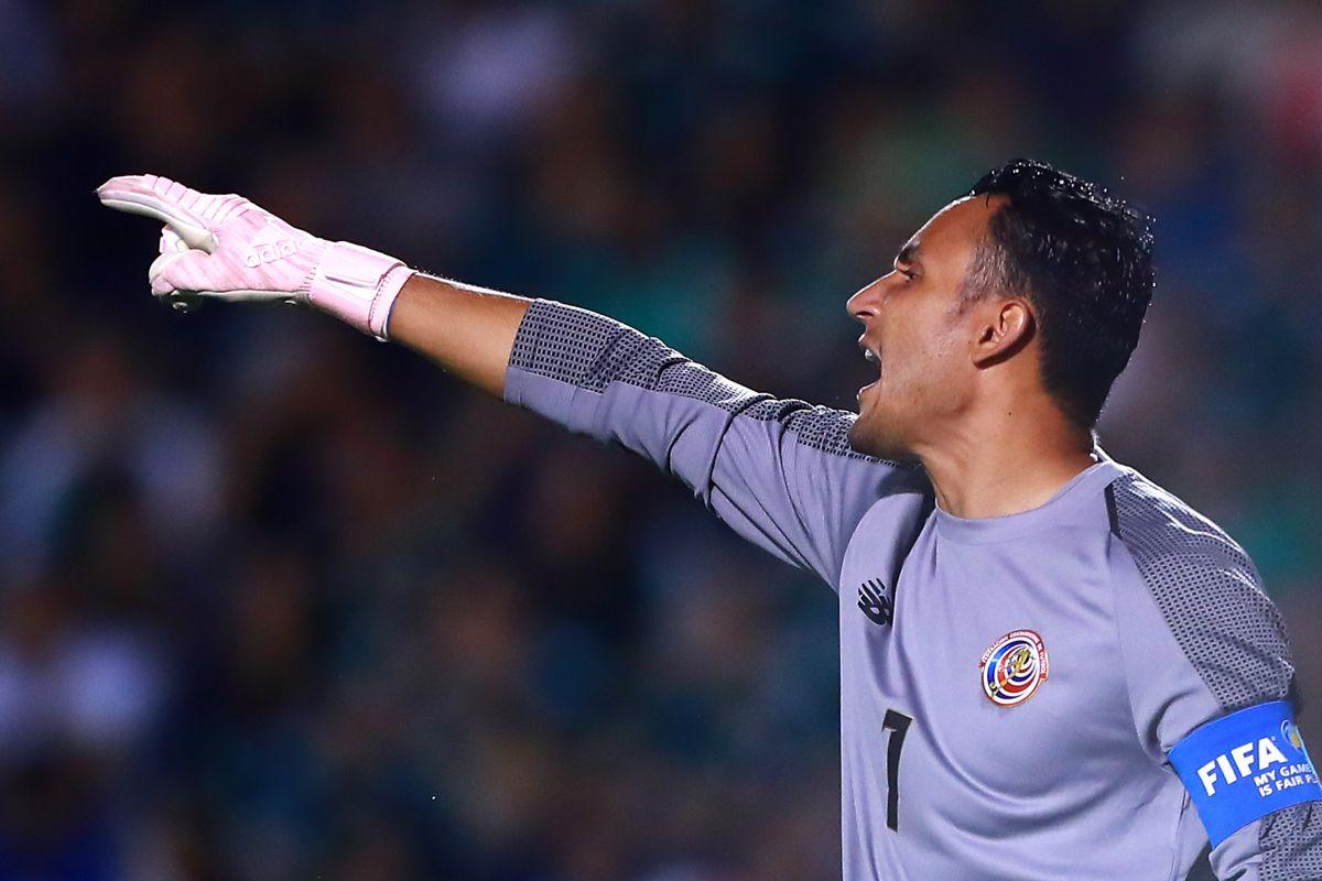 Keylor Navas no jugará la Copa Oro con Costa Rica