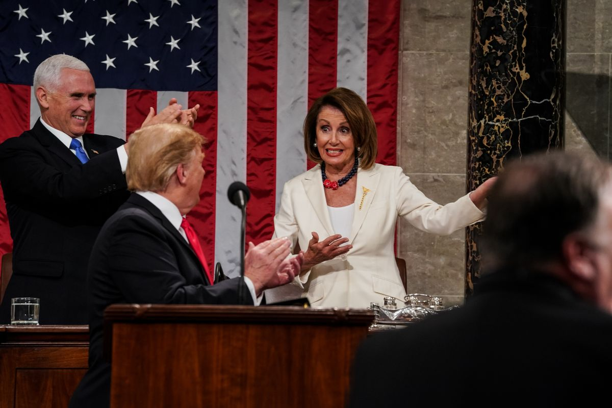 Pelosi considera que no es buen momento para un juicio político contra Trump.