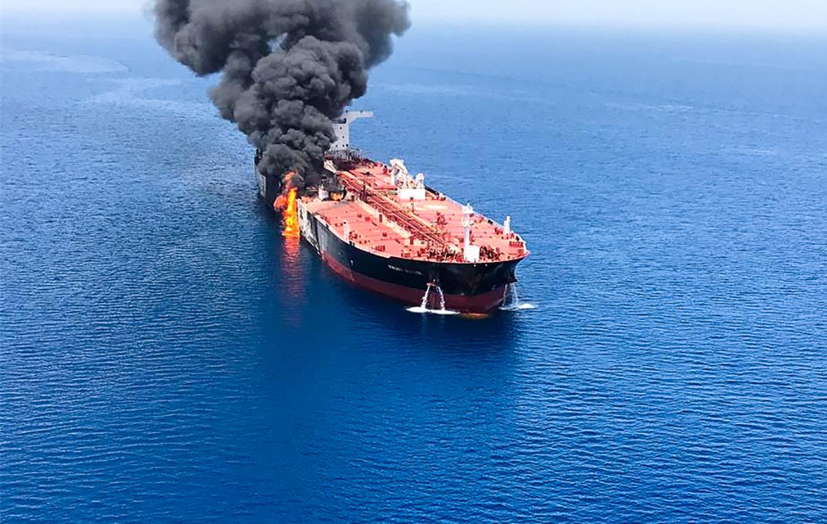 Uno de los buques es noruego.