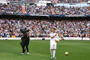 Presentan a Eden Hazard en el 'Bernabeú'