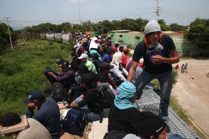 "Muere migrante al caer de ""La Bestia"",  se quedó dormida"