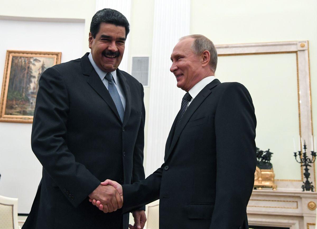 Nicolás Maduro y Vladimir Putin, 2019
