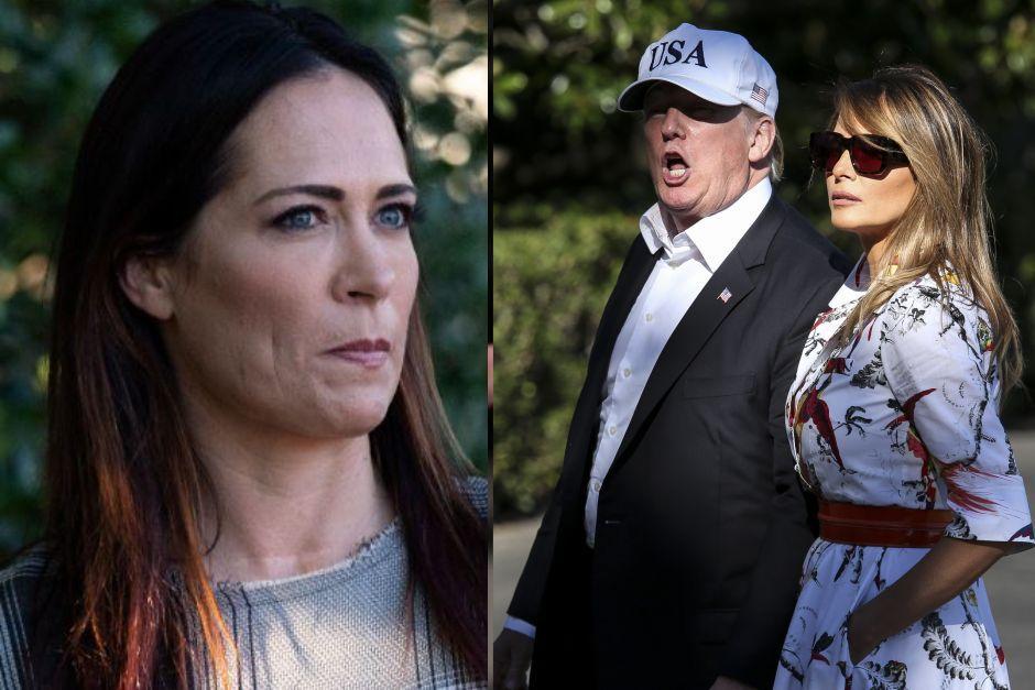 """La """"consentida"""" de Melania es nombrada como nueva jefe de prensa de Trump"""