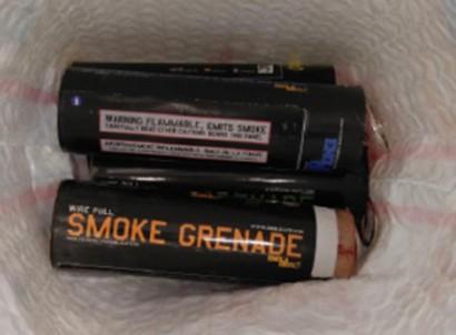 Los explosivos decomisados
