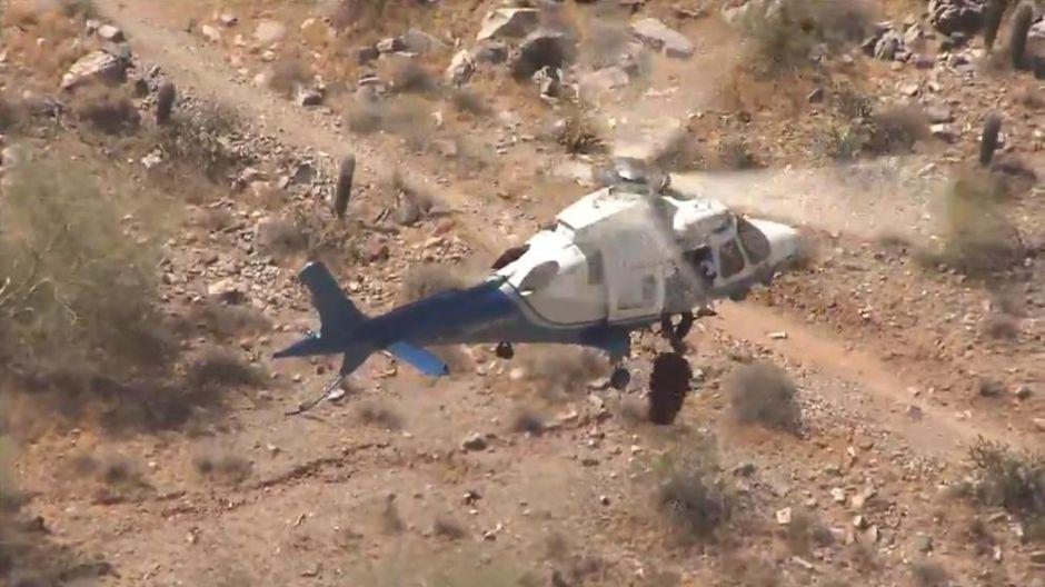 VÍDEO: Rescate en helicóptero no sale como se esperaba