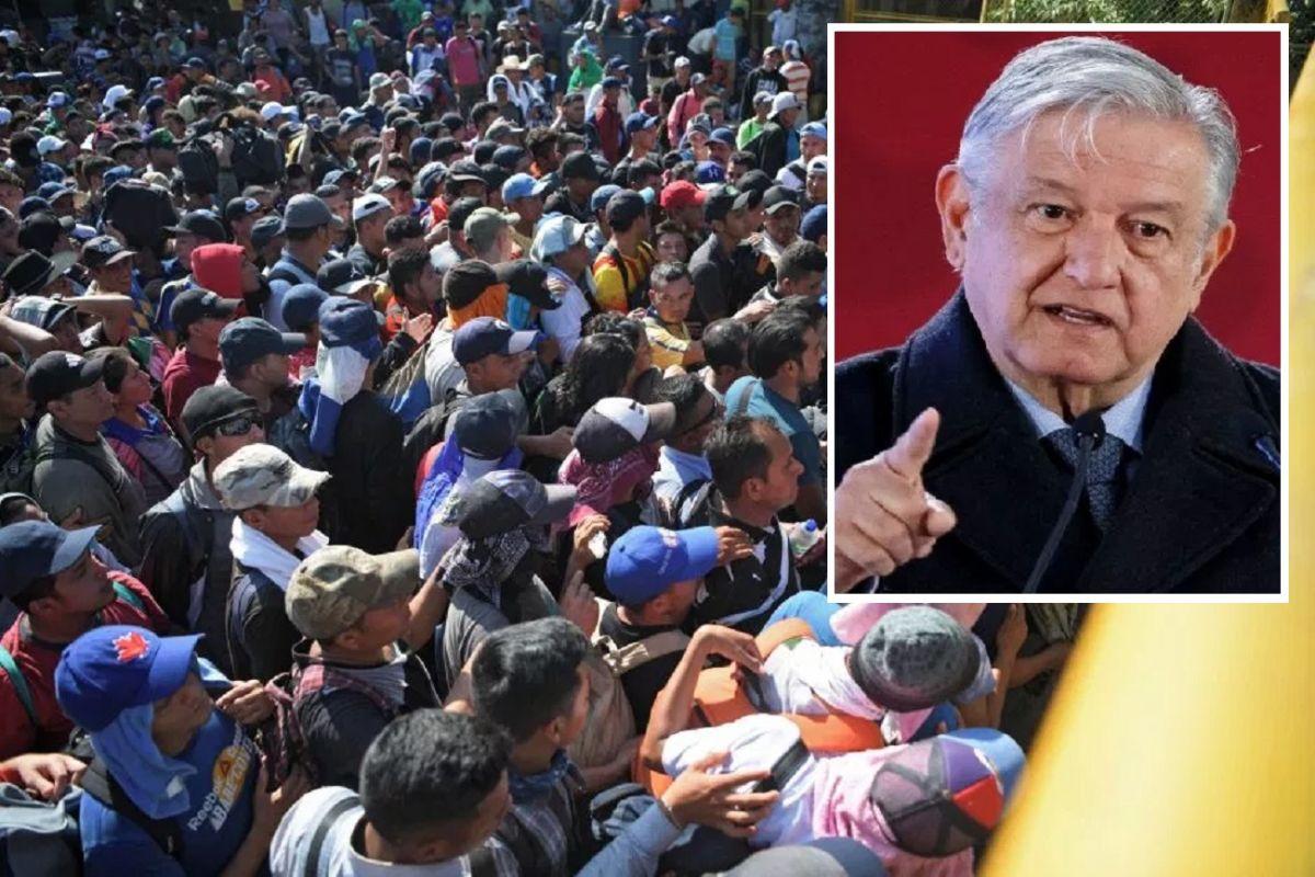 Gobierno de AMLO a inmigrantes: No queremos que usen nuestro país para llegar a Estados Unidos