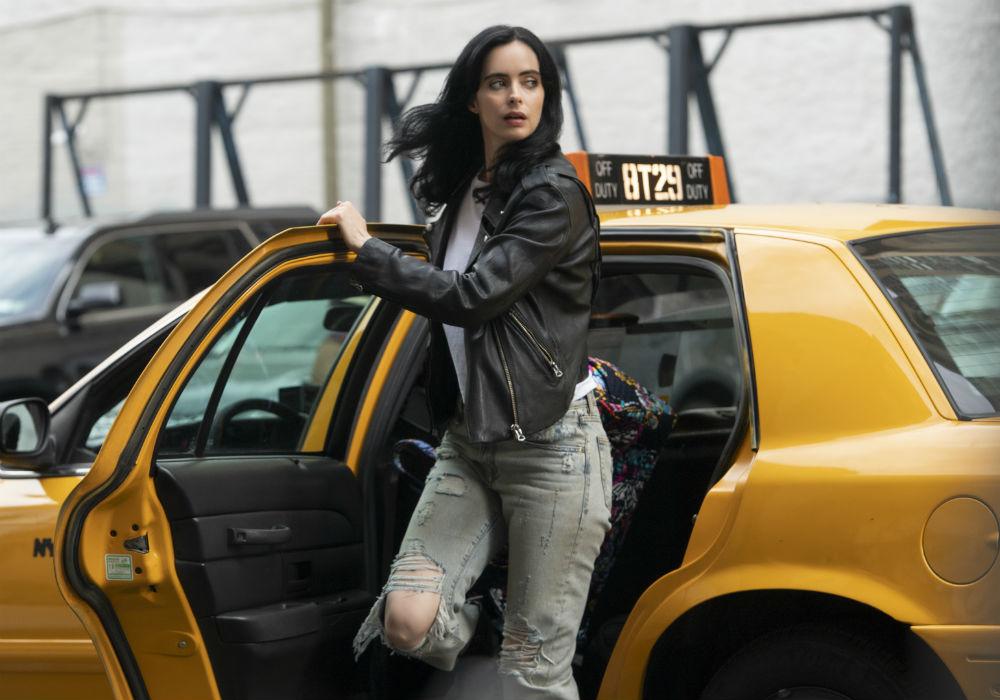 "Krysten Ritter en ""Marvel's Jessica Jones"""