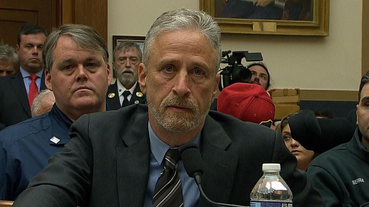 Jon Stewart el 11 de junio en el Congreso
