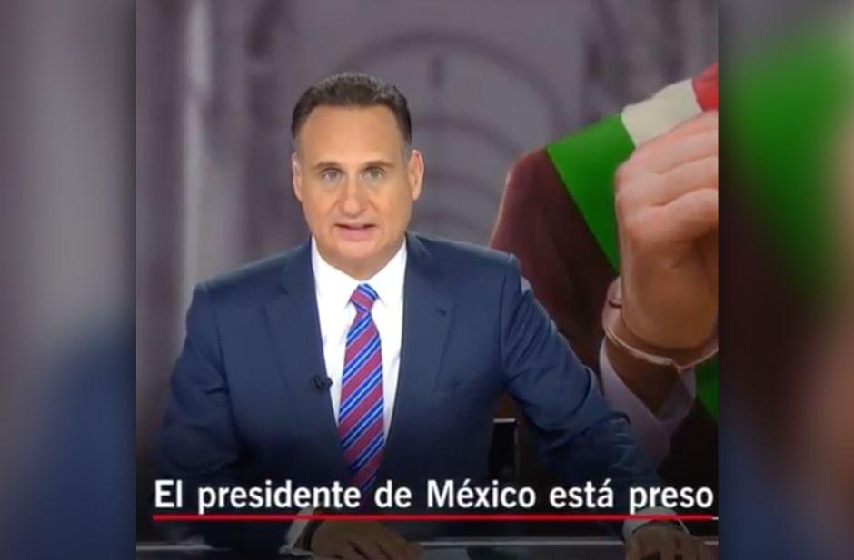 'Arrestan al presidente de México': Así es la historia de 'Preso No. 1', la nueva serie de Telemundo