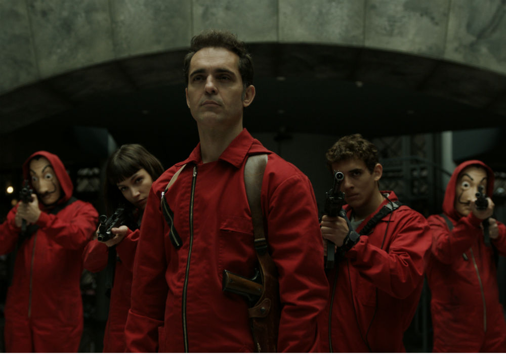 "Checa el trailer de la tercera temporada de la serie de Netflix ""La casa de papel"""