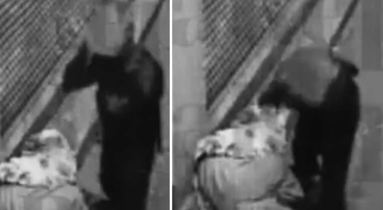 Indigente golpea con una roca 10 veces a una mujer en la calle y la mata