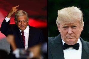 Luego del acoso ahora Trump felicita a López Obrador