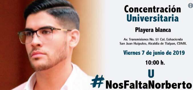 #NosFaltaNorberto, su familia paga rescate en México y  secuestradores aún no lo devuelven
