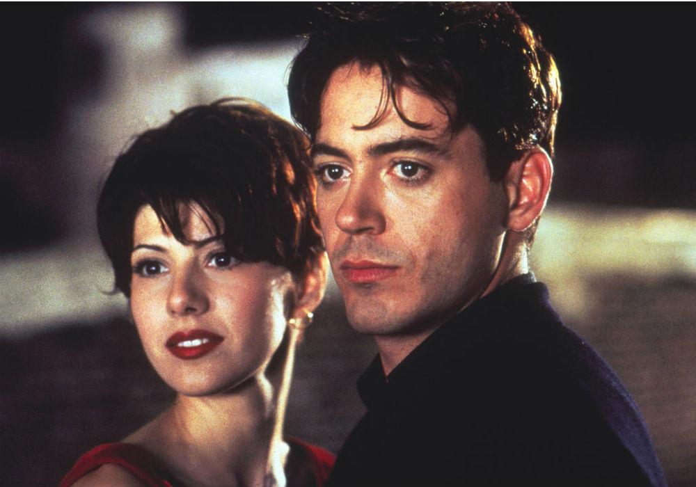 "Marisa Tomei y Robert Downey Jr. en ""Only you"""