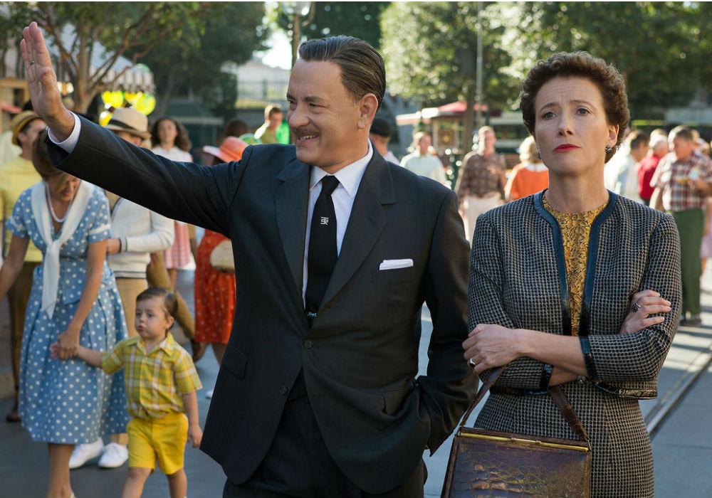 """Tom Hanks y Emma Thompson en """"Saving Mr. Banks"""""""