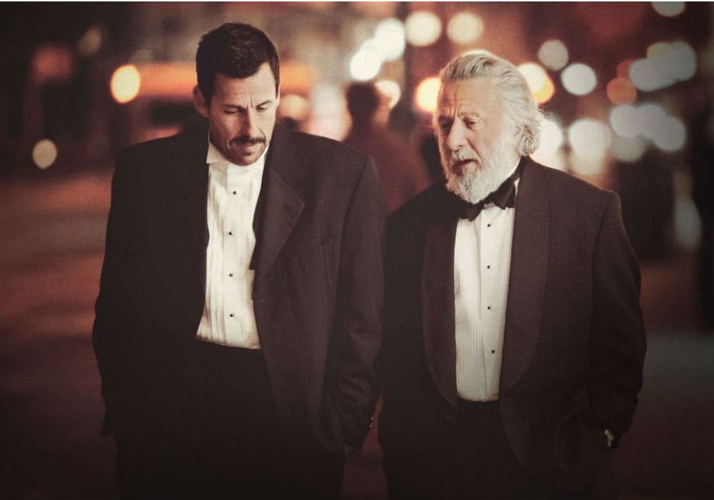 "Adam Sandler y Dustin Hoffman en ""The Meyerowitz Stories"""