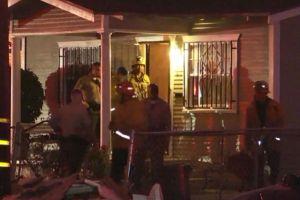 Tres muertos en dos tiroteos a una milla de distancia en el sur de Los Ángeles