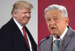 """La """"gran lección"""" que Trump le dio a AMLO y por la cual un funcionario lo llama """"San Donald Trump"""""""