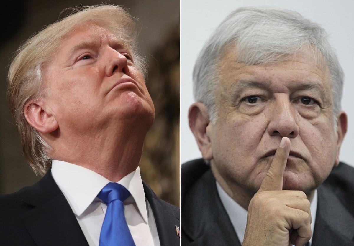 """Trump pide """"acto de buena fe"""" a AMLO contra inmigrantes para evitar impuestos de hasta 25%"""