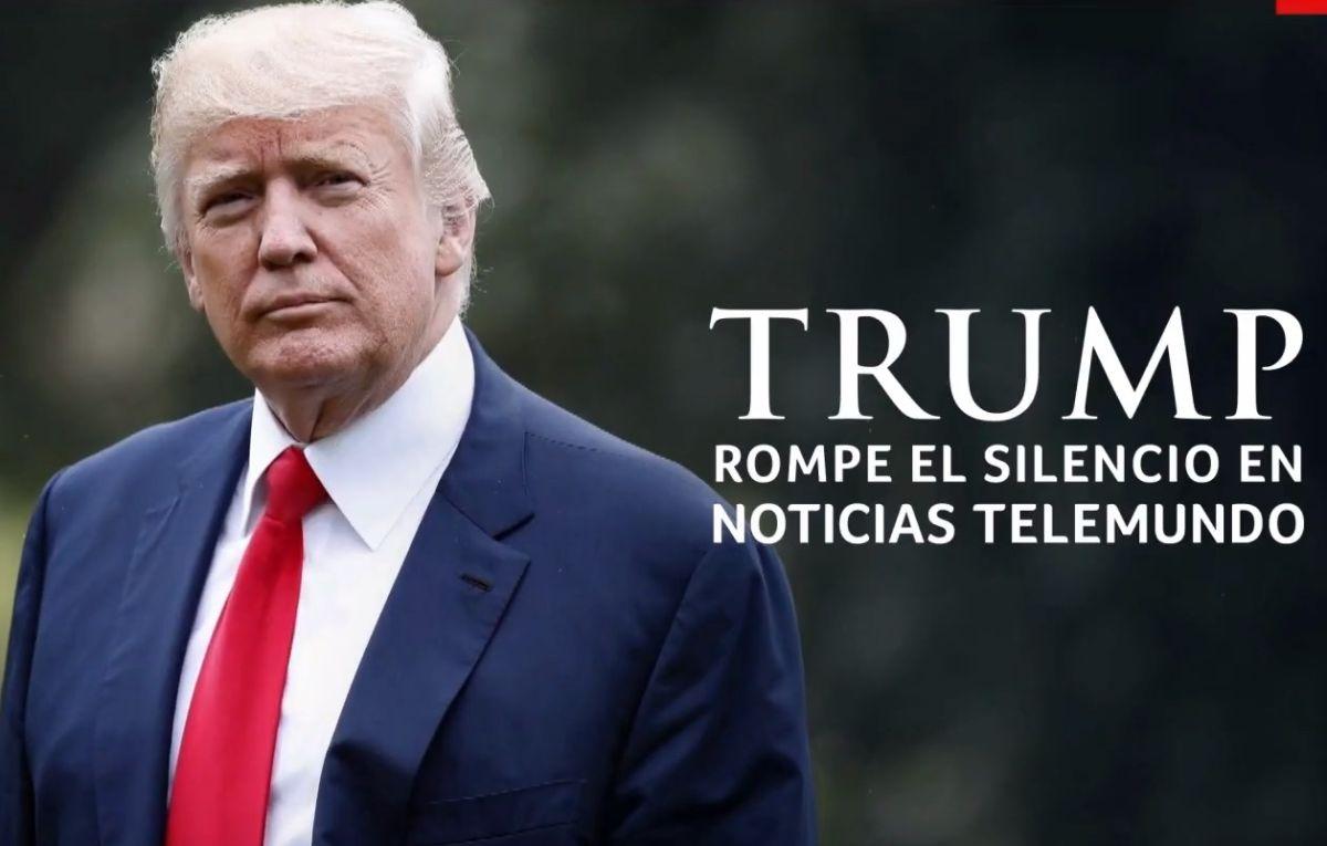 Trump concede a Telemundo la primera entrevista sobre inmigración a un medio hispano