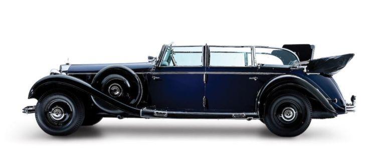 El auto favorito de Hitler era un Mercedes… que hoy está en Estados Unidos