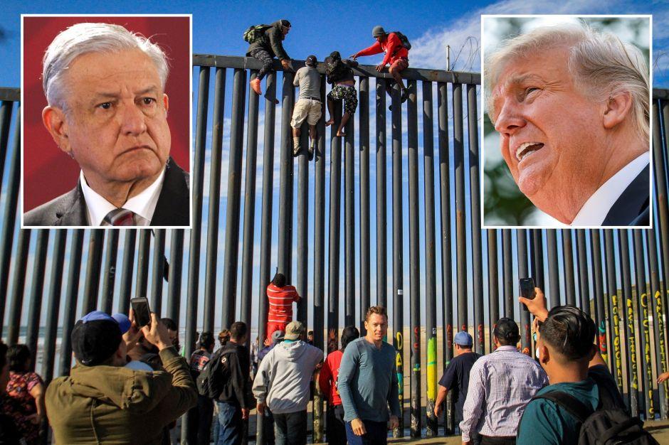 """Administración Trump exige a AMLO """"hacer más"""" contra inmigrantes"""