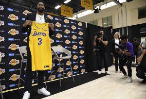 Oficialmente inicia la era Anthony Davis en los Lakers