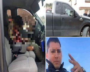 Así quedó expolicía de Tijuana tras lluvia de balas que sicarios le propinaron