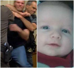Pariente le cae a golpes en Corte a padre que mató a bebé de tres meses en Indiana