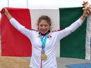 ¡Espectacular! La mexicana Beatriz Briones se lleva oro en canotaje de los Panamericanos