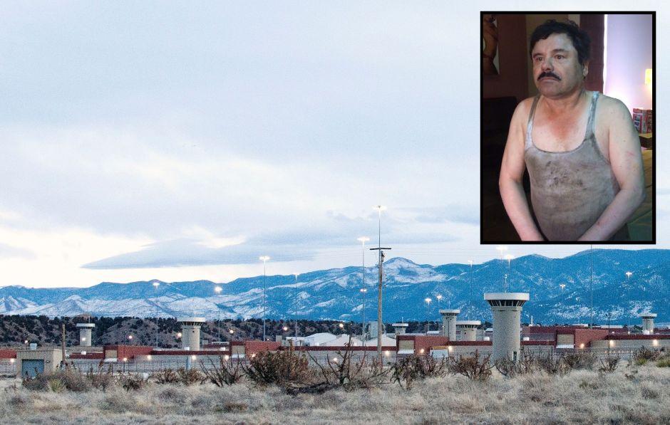 """Lo que sucede cuando sale un preso de la cárcel donde está encerrado """"El Chapo"""" Guzmán en Colorado"""