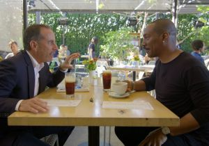 """Jerry Seinfeld presenta """"Comedians in cars getting coffee"""""""