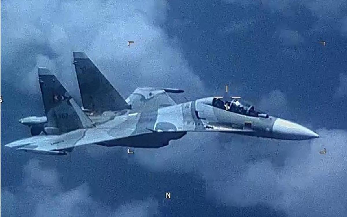 Avión de guerra venezolano persigue a uno de Estados Unidos en el Caribe