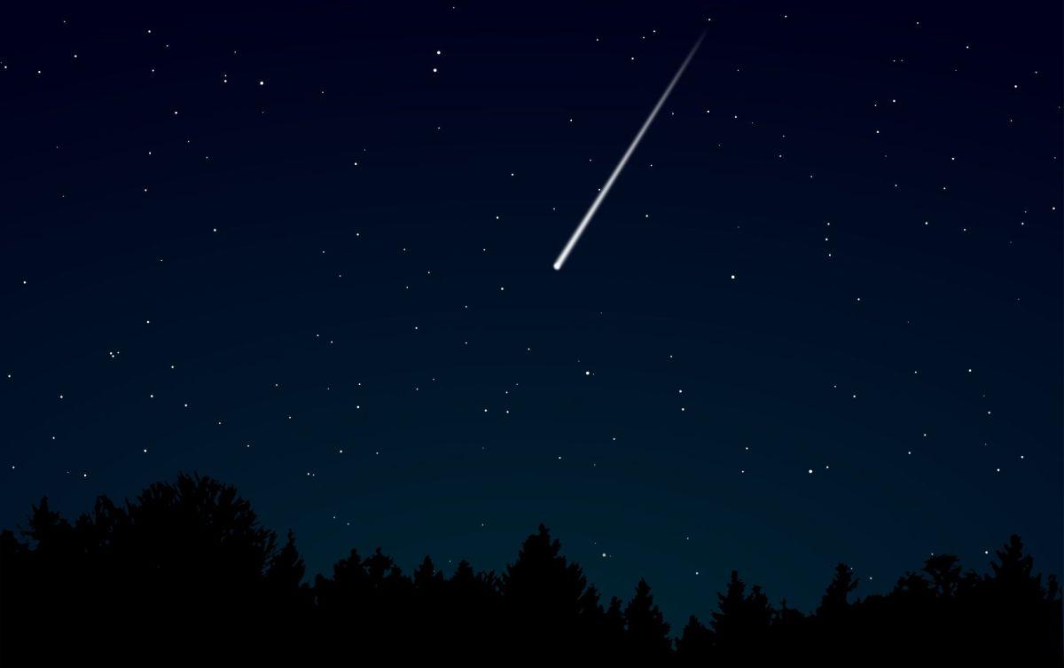 Este lunes se podrán ver dos lluvias de meteoritos