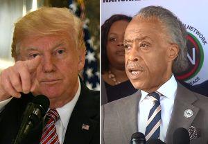 """Trump acusa a reverendo Al Sharpton de """"estafador"""" y de """"odiar a los blancos"""", pero recibe dura respuesta"""