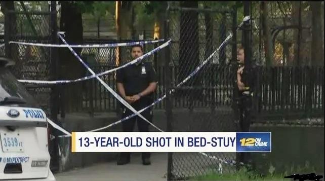 Adolescente fue baleada mientras paseaba en parque de Brooklyn