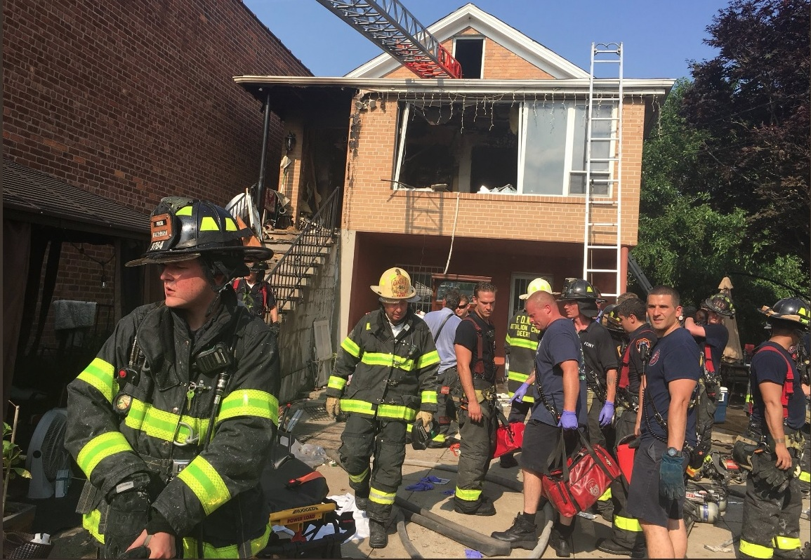 Huésped furioso causó 3 muertos al quemar hogar dominicano en Queens