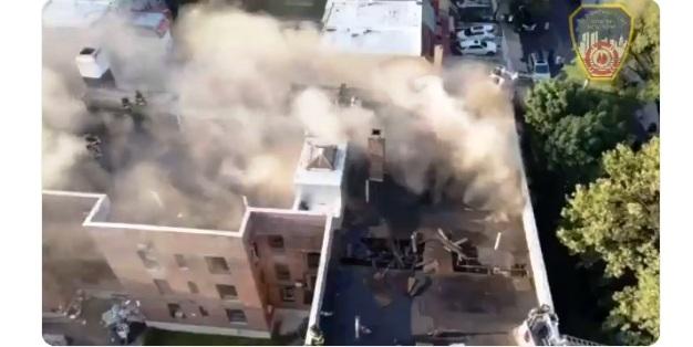 Más de 100 personas quedan en la calle por incendio en El Bronx; los detectores de humo no funcionaron