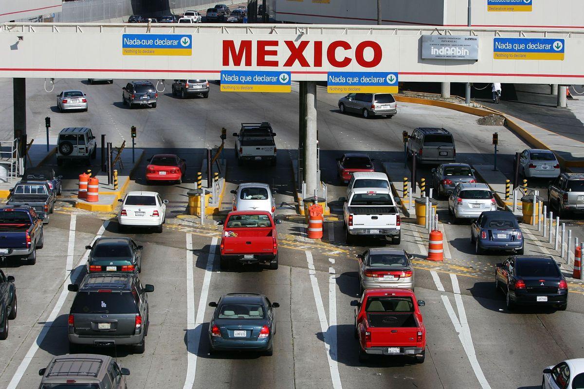 Se cierra la frontera entre Estados Unidos y México por el coronavirus