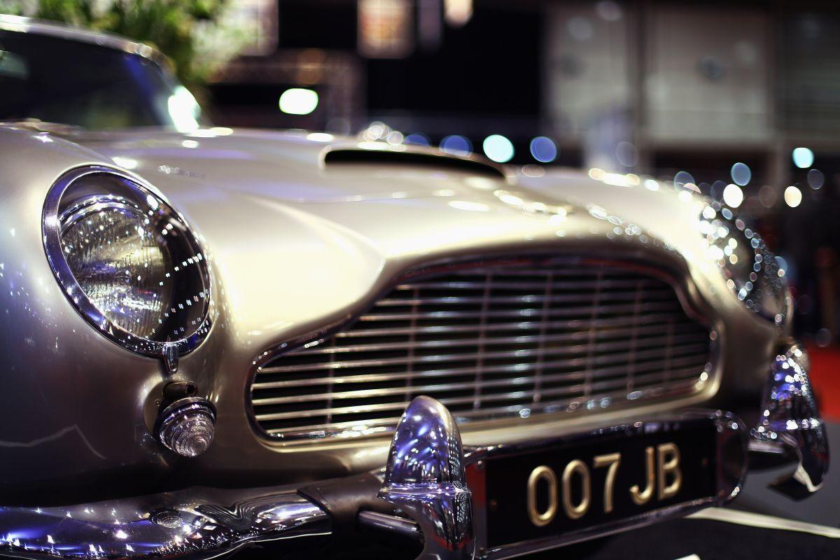 """El Aston Martin del """"Agente 007"""" Sean Connery estará en Nueva York"""