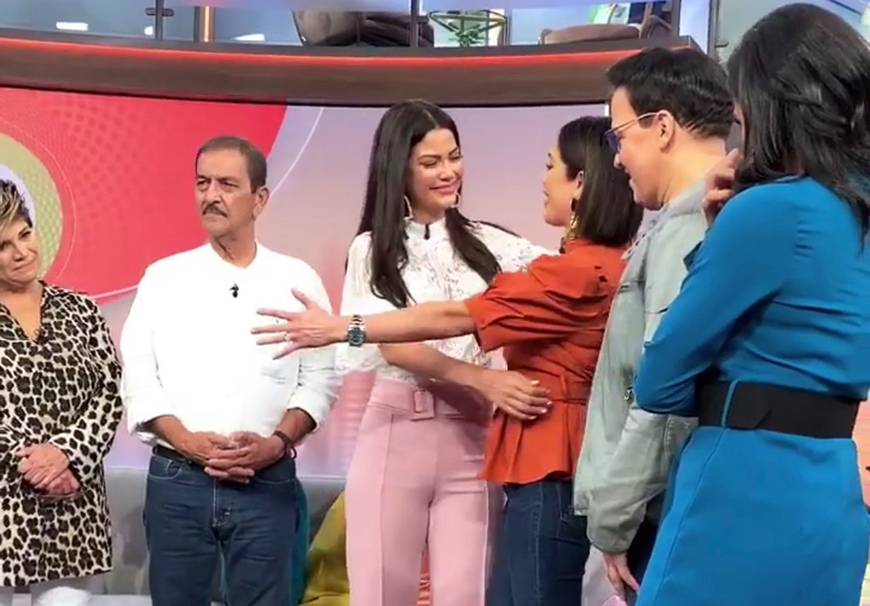 Ana Patricia Gámez se despidió de 'Despierta América' entre lágrimas y risas