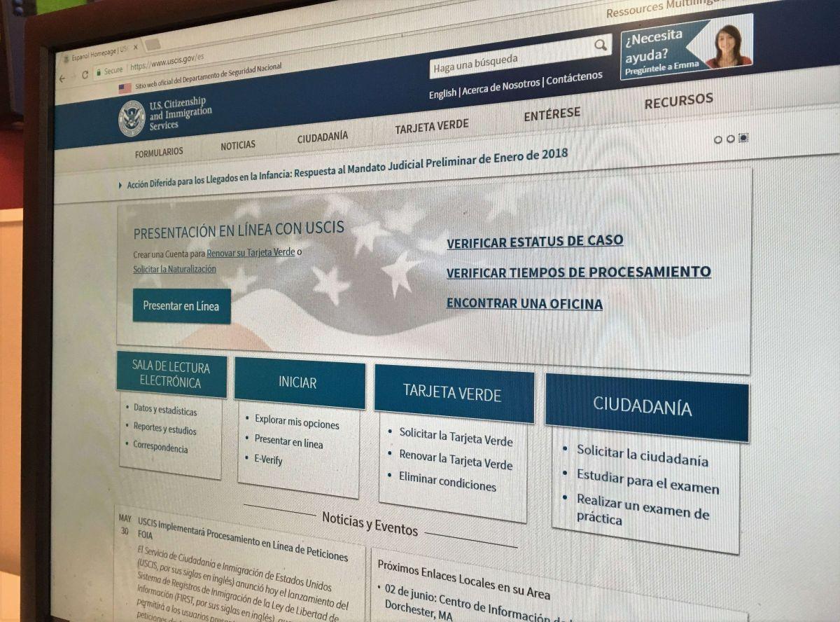 USCIS anuncia nuevo costo de trámites en línea para empleados extranjeros