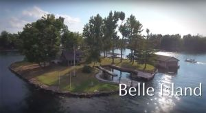 VIDEO: Puedes rentar esta isla privada por $1,000 al día en Nueva York