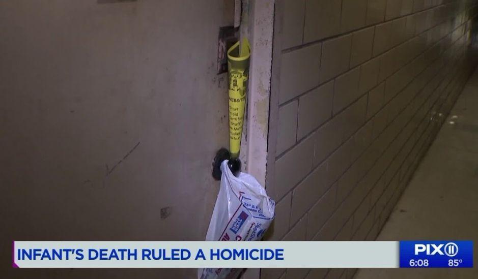 Homicidio infantil: recién nacida latina murió por fractura de cráneo en Nueva York