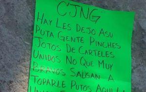 """Grupo elite de sicarios del CJNG de """"El Mencho"""" deja restos de desmembrados por calles de Guanajuato, México"""