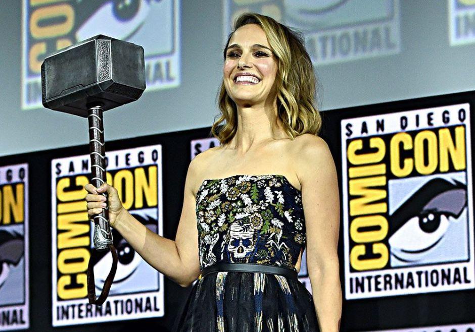 Natalie Portman hereda el martillo de Thor para la cuarta entrega de la saga