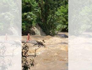 Un agente del CBP fuera de servicio rescata a niña en inundación en bosque nacional El Yunque