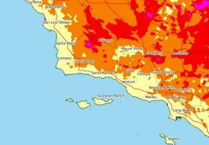 Alerta por ola de calor en el sur de California